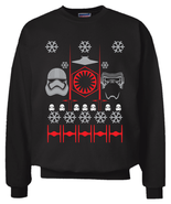 Star Wars The Force Awakens Christmas Sweater Sweatshirt S - 2XL Ugly Sw... - £23.35 GBP+