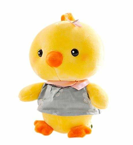 PANDA SUPERSTORE Creative Cute Chick Mascot Dolls Plush Toys Birthday Gift Blue