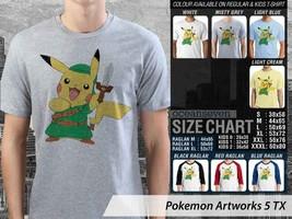 T Shirt Pokemon Go Art Many Color & Design Option - $10.99+