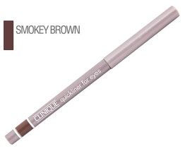 LOT OF 2 CLINIQUE QUICKLINER FOR EYES  02 SMOKY BROWN NEW - $36.98