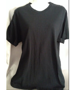 PreOwned Fruit of the Loom Black T Shirt Size L... - $4.99