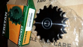 ONE D50A17H DOUBLE ROLLER CHAIN IDLER SPROCKET WITH 2 1616 2RS SEALED BE... - $34.65