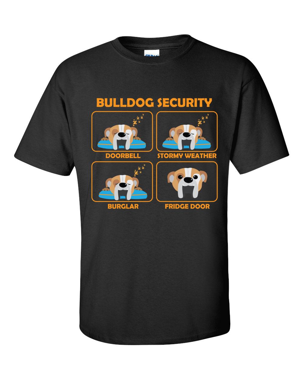 English bulldog funny bulldog t shirt bulldog security T shirts for english bulldogs