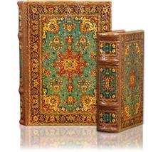 Shangri La Secret Storage Book Box Set of 2 Arabesque Tapestry Pattern K... - $39.99