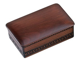 Decorative Wood Box Classic Traditional Polish Handmade Wooden Jewelry Box - €24,08 EUR