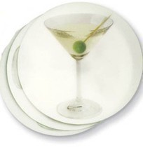COCKTAIL - Italian Drink Coasters Set of 24: Versatile Elegant Functional - £8.79 GBP