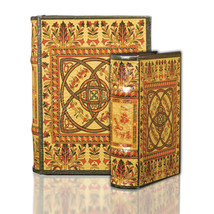 Medieval Celtic Design Secret Book Box Set Irish Celtic Secret Storage Book Box - $39.99