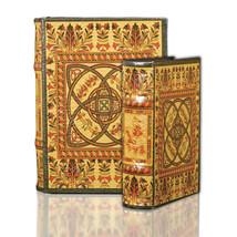 Medieval Celtic Design Secret Book Box Set Irish Celtic Secret Storage B... - $39.99