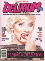 Full Moon Presents Delirium Magazine #11 Barbara Crampton Cheerleader Ho... - $9.95