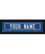 Personalized New York Knicks Stitched Jersey 8 x 24 Framed Print - $38.50