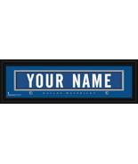 Personalized Dallas Mavericks Stitched Jersey 8 x 24 Framed Print - $39.95