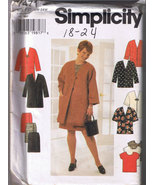 Simplicity 7471 - Women's Coat or Jacket, Top, ... - $6.00