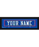 Personalized Philadelphia 76ers Stitched Jersey 8 x 24 Framed Print - $39.95