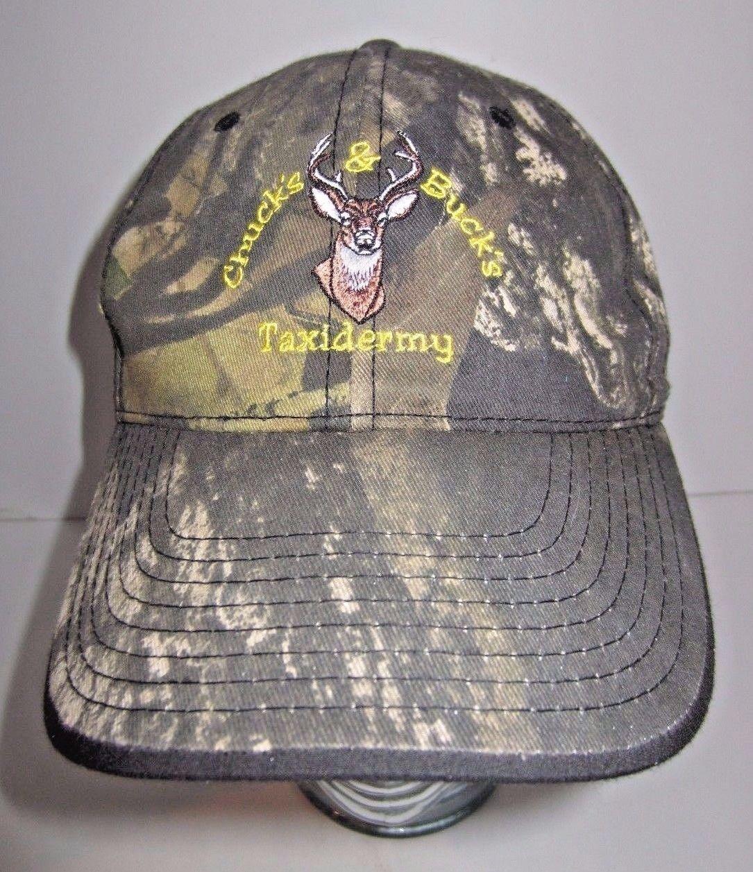 Chucks & Bucks Taxidermy Hat Cap - Deer - Camouflage - Snapback - Anderson SC - $17.77