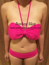 Pink Cute Ribbon Big Bow Bikini Swimsuit Summer - USA SELLER - $35.00