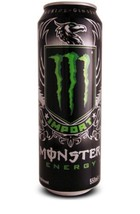 """MONSTER Energy Drink """"IMPORT"""" 18oz.Can - New & Full Resealable Cans.2 Total - $21.77"""