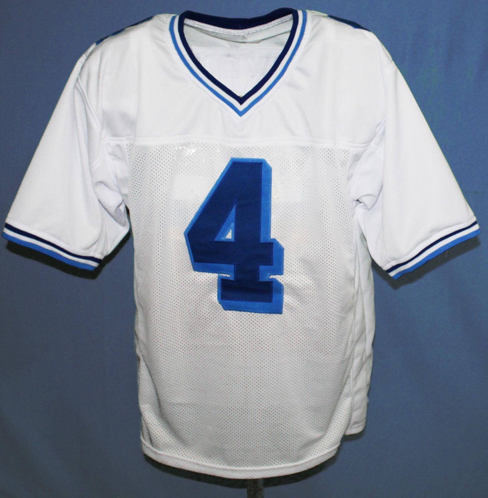 JONATHAN MOXON  4 VARSITY BLUES MOVIE JERSEY FOOTBALL WHITE NEW SEWN ANY  SIZE 622fd2ab00