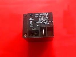 Hf2100 1 A 12 De, 12 Vdc Relay, Hongfa Brand New!! - $6.44