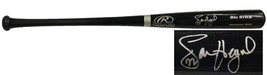 Jason Heyward Signed Rawlings Black Big Stick Bat - $200.00