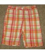 EUC Gymboree Cherry Baby Plaid Shorts Size 6 - $12.19