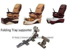 Pair Folding Tray Supporter Moon Valentine Chocolate pedicure massage spa chair - $25.73