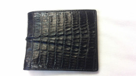 GENUINE CROCODILE WALLETS ALLIGATOR SKIN LEATHER TAIL BIFOLD PURSE MEN'S... - $79.99