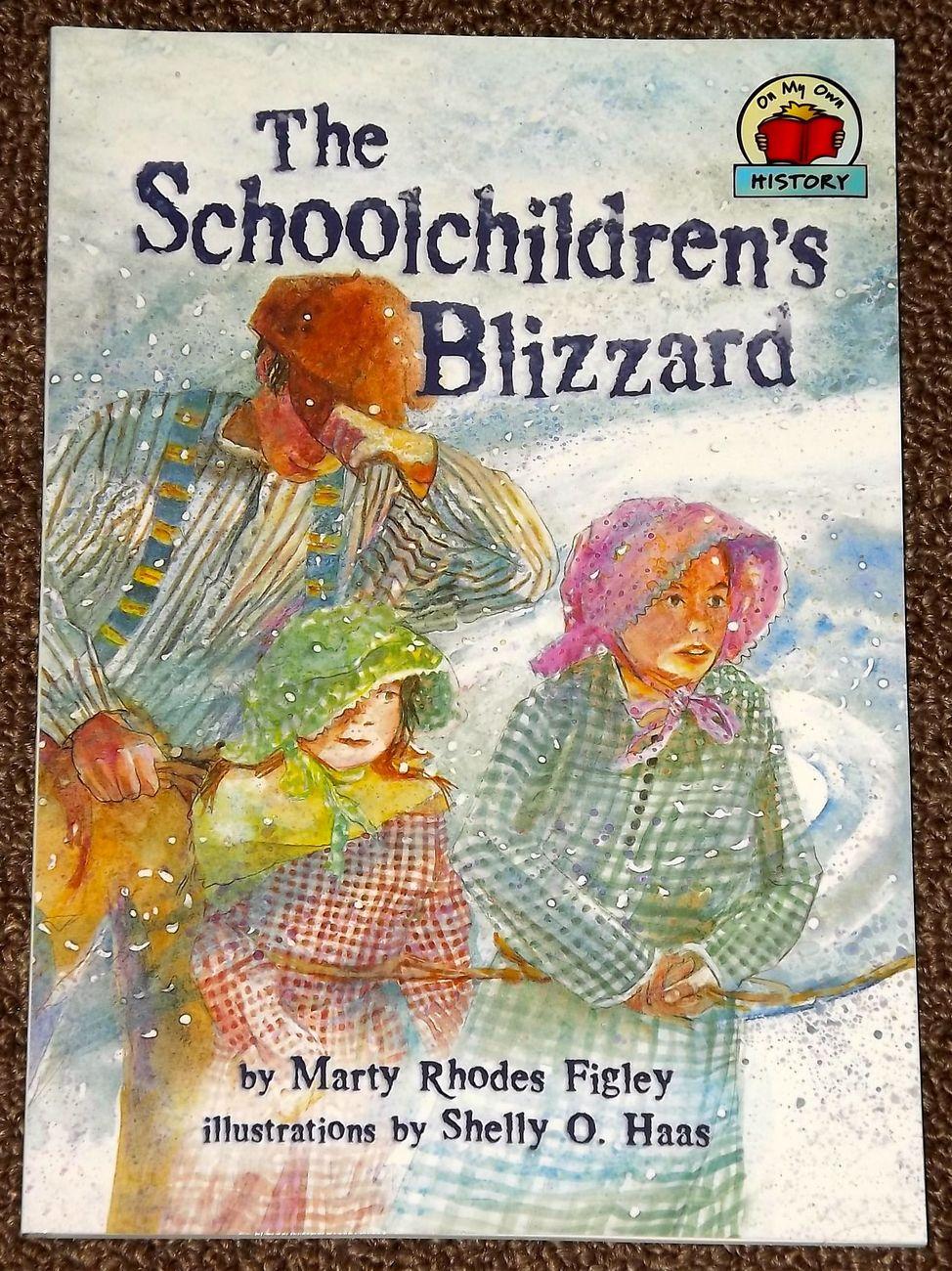 Schoolchildren s blizzard