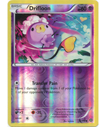 Drifloon 46/114 Common Reverse Holo XY Steam Siege Pokemon Card - $1.09