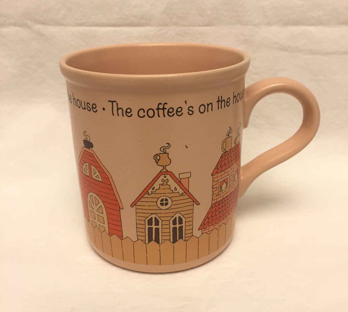 American greetings mug 2 customer reviews and 70 listings vintage 1985 mug coffees on the house american greetings designers collection 300 m4hsunfo