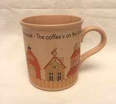 Vintage 1985 mug Coffee's On The House American Greetings Designer's Col... - $3.00