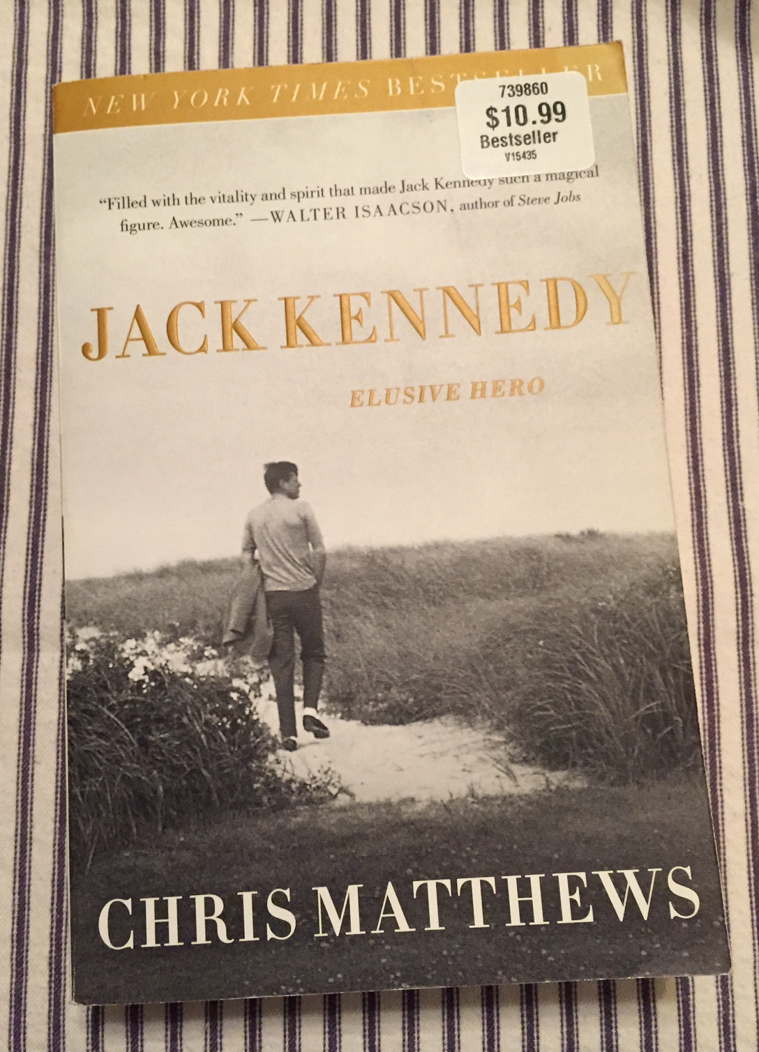 Primary image for SC book Jack Kennedy Elusive Hero by Chris Matthews JFK biography