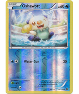 Oshawott 30/114 Common Reverse Holo XY Steam Si... - $0.79