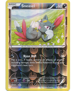 Sneasel 60/114 Common Reverse Holo XY Steam Sie... - $0.69
