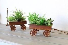 Mini Artificial Succulent Garden Planters Weste... - $25.25