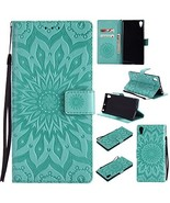 XYX Wallet Case for Sony Xperia XA1 Ultra,[Sun Flower] Premium Flip PU L... - $9.88