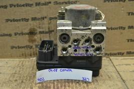 04-08 Toyota Corolla ABS Pump Control OEM Module 4451002090 327-9D2 - $59.97