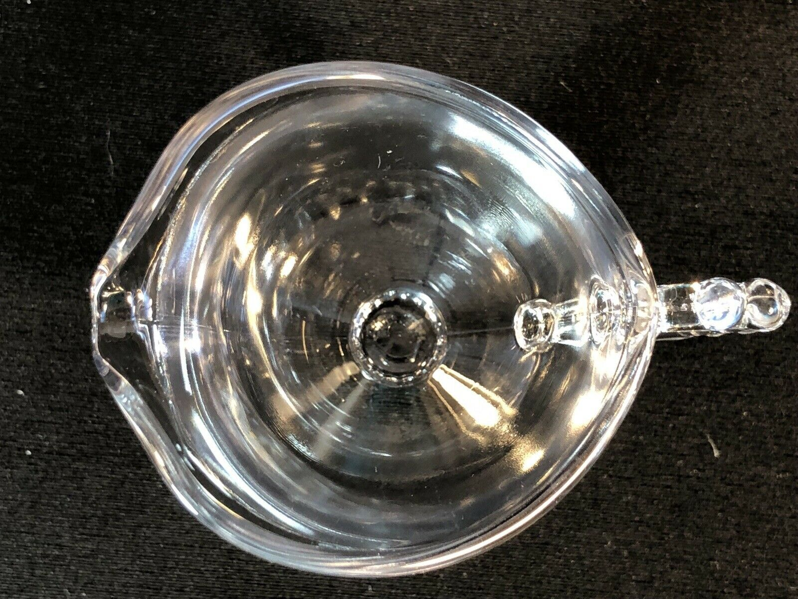 """Vintage Imperial Glass Ohio Candlewick Clear Glass Creamer 5"""""""