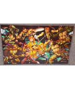 TMNT vs Zartan & Dreadknocks Glossy Print 11 x 17 In Hard Plastic Sleeve - $24.99