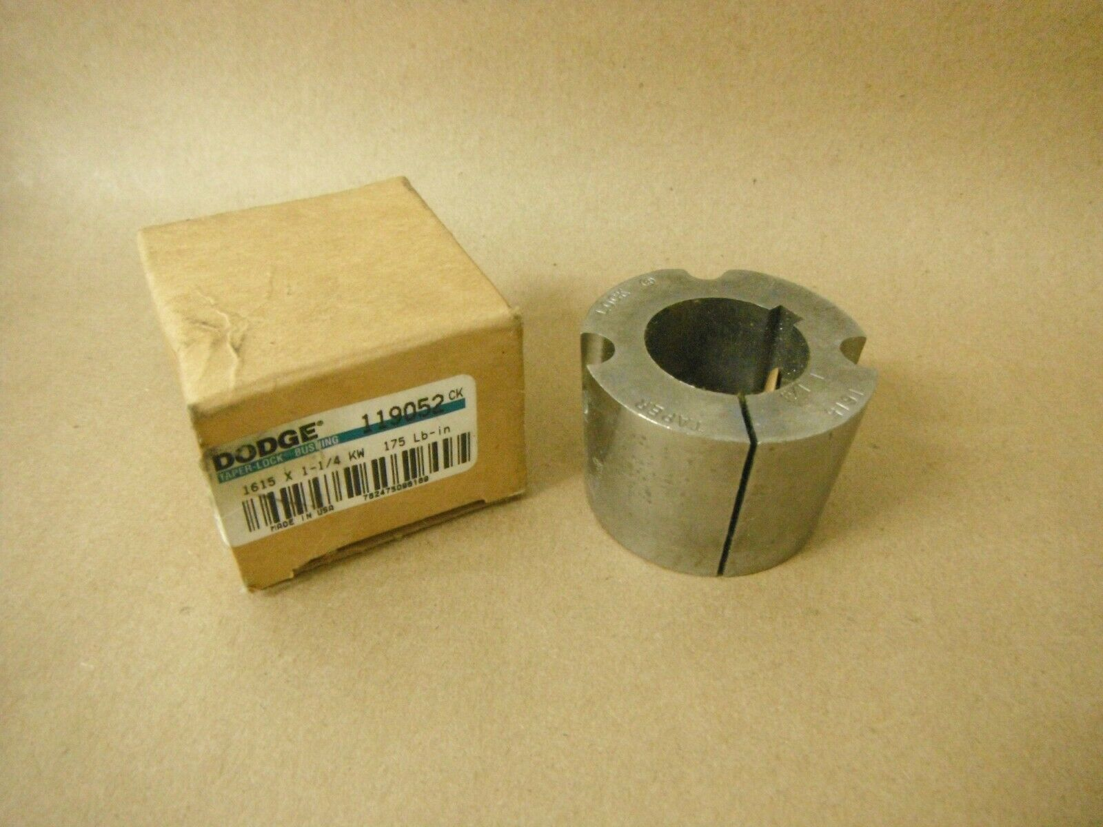 Primary image for 119052 DODGE 1615 X 1-1/4 KW TAPER LOCK BUSHING