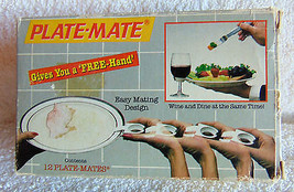 Vintage > Plate-Mate - Gives You a FREE hand -1984 - €9,18 EUR