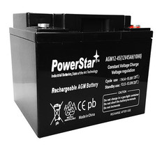 12V 45Ah Replacement for Fire Alarm Kung Long WP38-12 Battery 2 Year War... - $112.63