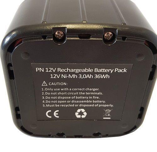 12 V 3 Ah Ni Mh Battery For Panasonic Ey9001 and similar items