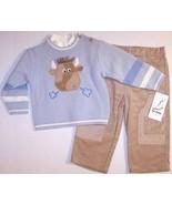NWT b.t. kids Boy's 3 Pc. Bull Sweater, Shirt &... - $14.99