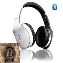 Rhythmz BLU HD Touch Gesture Technolgy Headphones (White) - $92.04