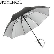 JPZYLFKZL8K katana umbrella Semi-automatic Increase Umbrella Female Male... - $30.30