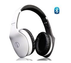 Rhythmz Classic Wireless & Bluetooth Headphones (white) - $92.10