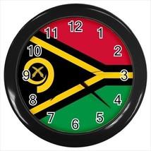 Vanuatu Flag Wall Clock - $18.37