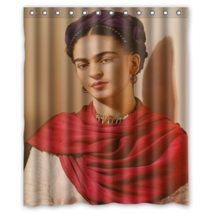 Frida Kahlo #02 Shower Curtain Waterproof Made From Pol - $29.07+