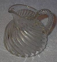 Old Vintage Swirl Press Pattern Syrup or Cream Pitcher  - $10.00