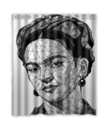 Frida Kahlo #03 Shower Curtain Waterproof Made From Pol - $29.07+